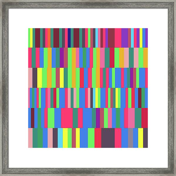 Words Used To Describe A Quadrillion Numbers Framed Print