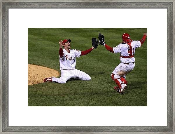 World Series Tampa Bay Rays V Framed Print