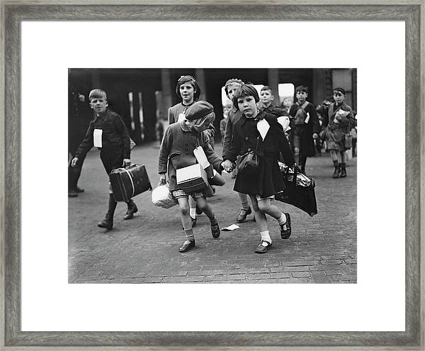 World War II, 11th June 1944, London Framed Print