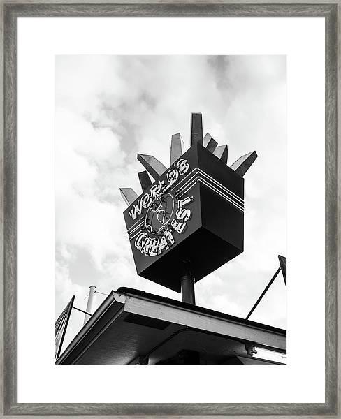 World's Greatest Framed Print
