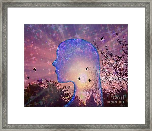 Worlds Within Worlds Framed Print
