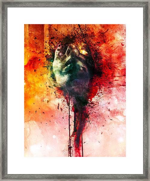 W.o.u.n.d.s Framed Print