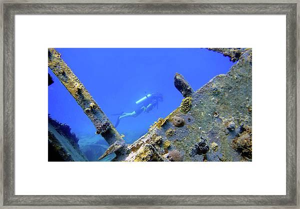 Wreck Framed Framed Print