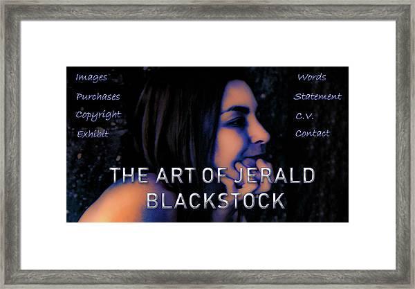 Www.jeraldblackstock.ca Framed Print