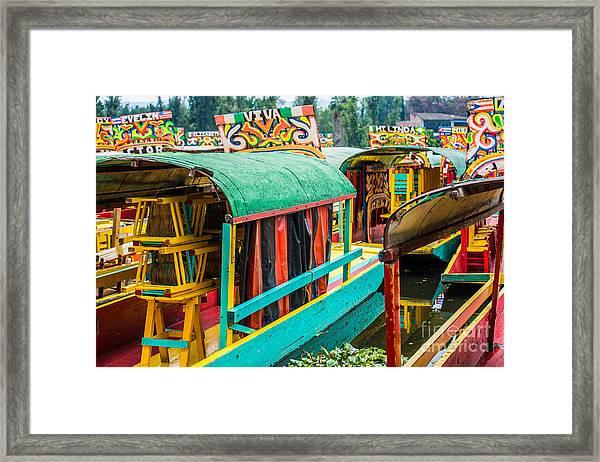 Xochimilco, Mexico City Framed Print