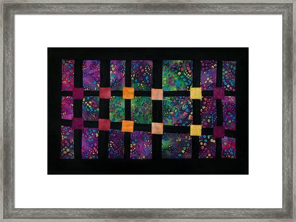 Xyla-nebula-phone Framed Print