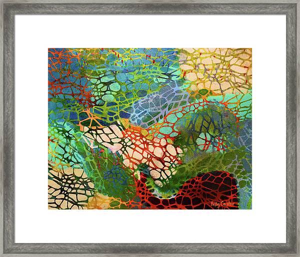Xylem Framed Print