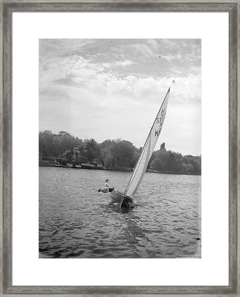 Yachting Framed Print