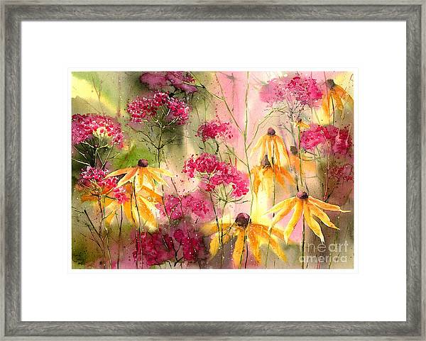 Yellow Ballerinas Framed Print