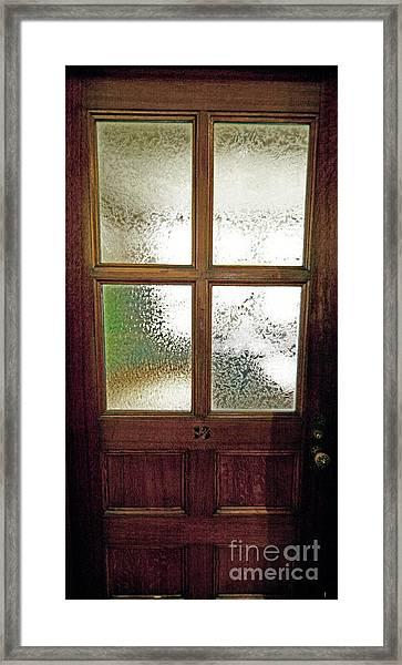 Yerkes Observatory Williams Bay Door 13 Jele3503 Framed Print