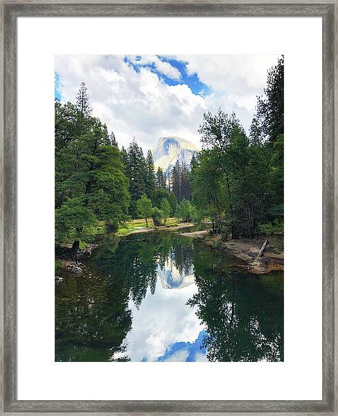 Yosemite Classical View Framed Print