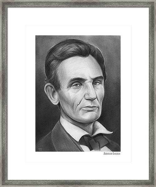 Young Lincoln Lawyer Framed Print