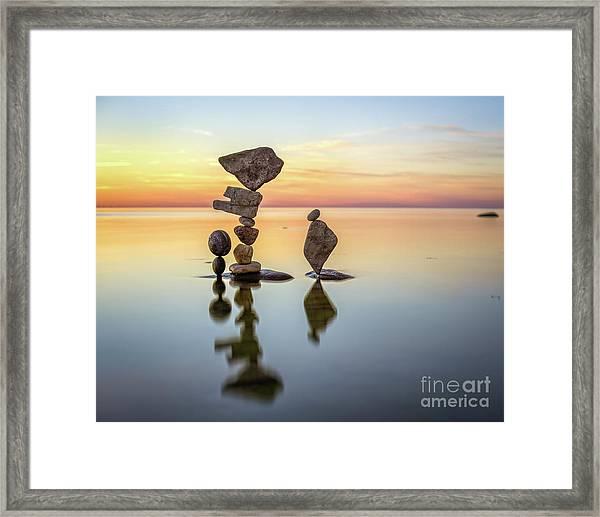 Zen Art Framed Print