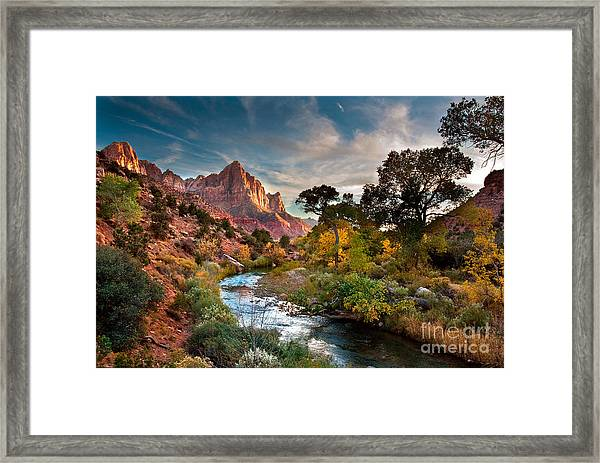 Zion And The Framed Print