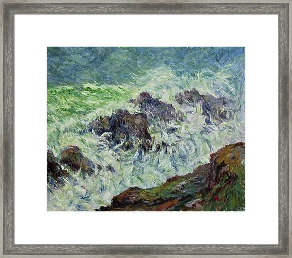Heavy Weather Framed Print
