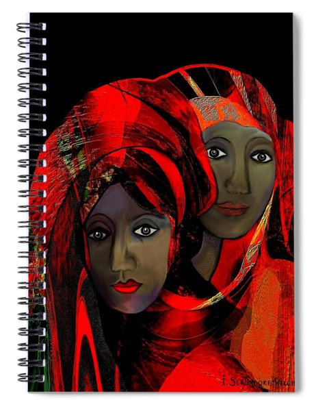 2910 Colour Of Passion Spiral Notebook