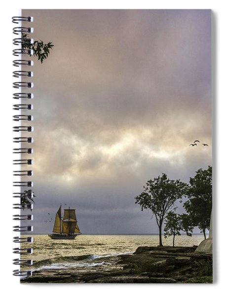 A Place To Dream Spiral Notebook