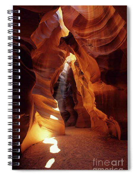 Antelope Canyon Ray Of Hope Spiral Notebook