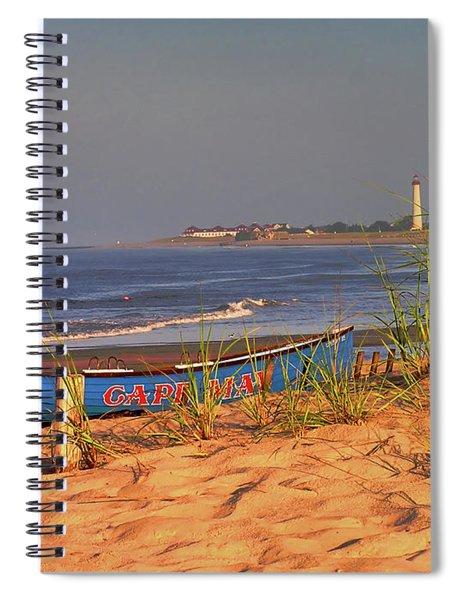 Cape May Beach Spiral Notebook
