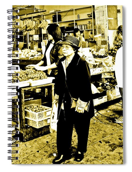 China Town Marketplace Spiral Notebook