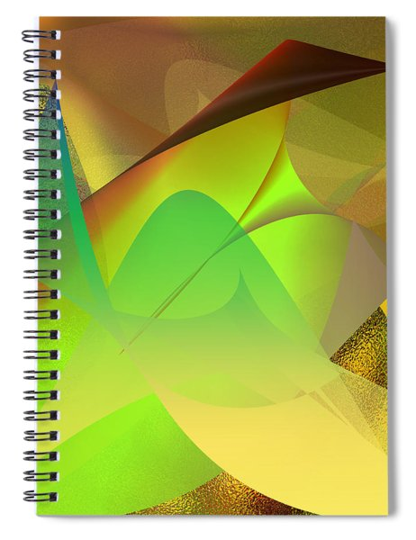 Dreams - Abstract Spiral Notebook