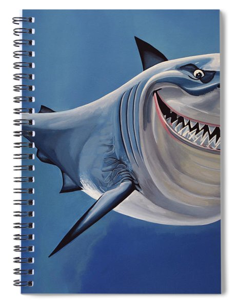 Finding Nemo Painting Spiral Notebook