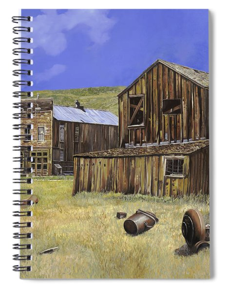 Ghost Town Of Bodie-california Spiral Notebook
