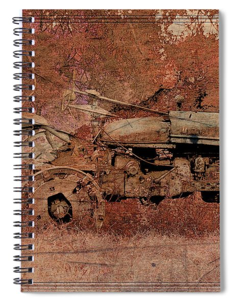 Grandpa's Old Tractor Spiral Notebook