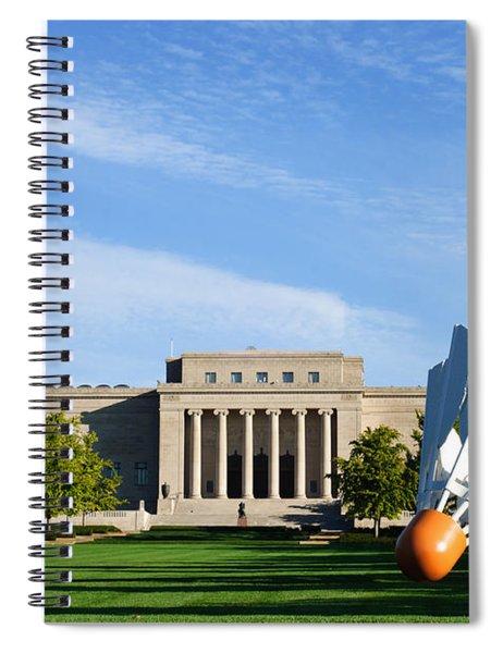 Nelson Adkins Art Museum Spiral Notebook
