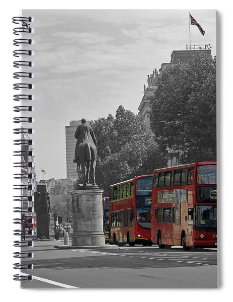 Routemaster London Buses Spiral Notebook