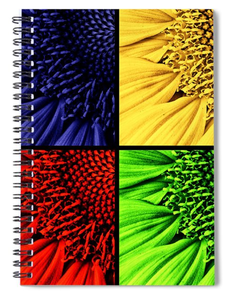 Sunflower Medley Spiral Notebook