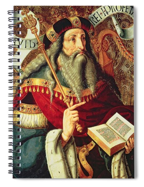 The Prophet David Spiral Notebook
