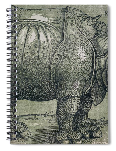 The Rhinoceros Spiral Notebook