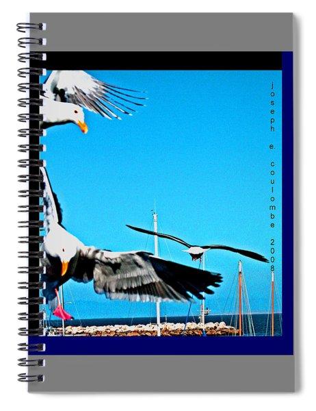 West Coast Sea Birds Spiral Notebook