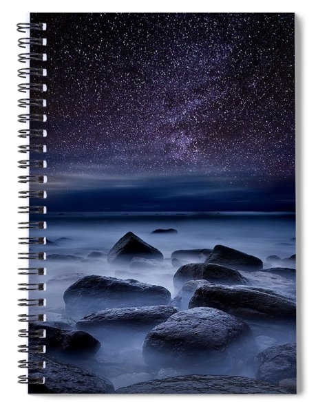 Where Dreams Begin Spiral Notebook by Jorge Maia
