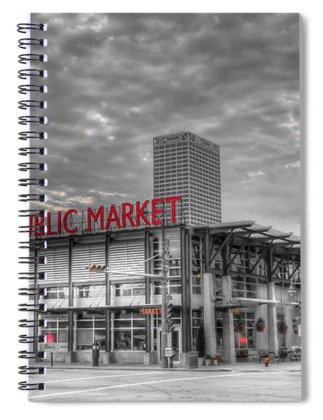 0038 Milwaukee Public Market Spiral Notebook