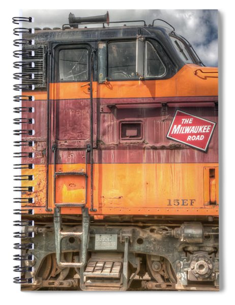 0119 The Milwaukee Road 2 Spiral Notebook