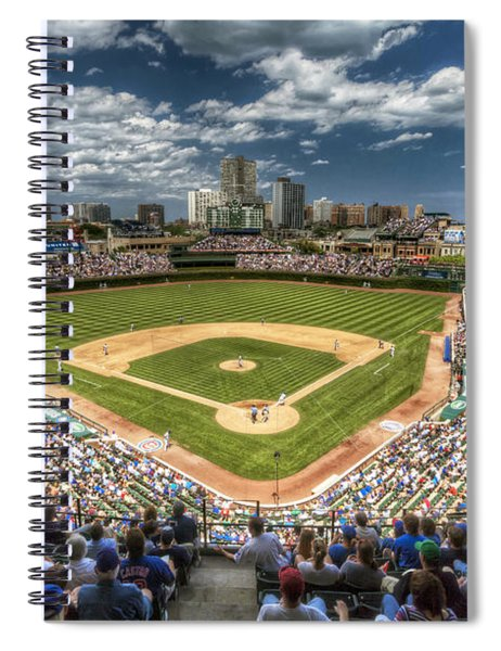 0234 Wrigley Field Spiral Notebook