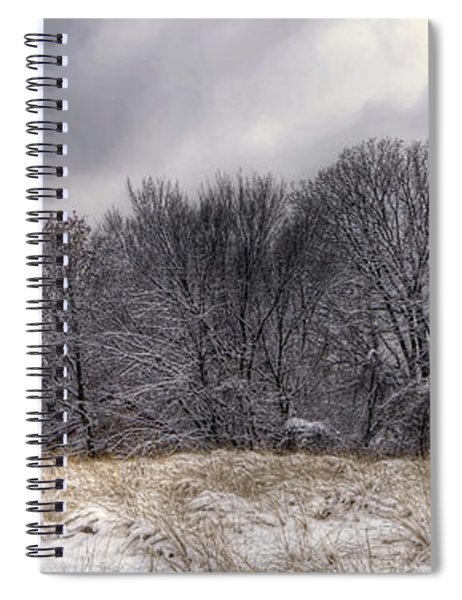 0243 Grosse Point Lighthouse Evanston Illinois Spiral Notebook