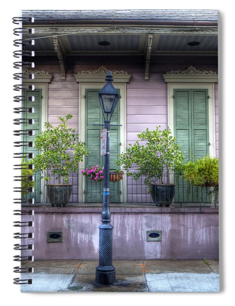 0267 French Quarter 5 - New Orleans Spiral Notebook