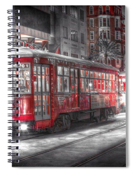 0271 New Orleans Street Car Spiral Notebook