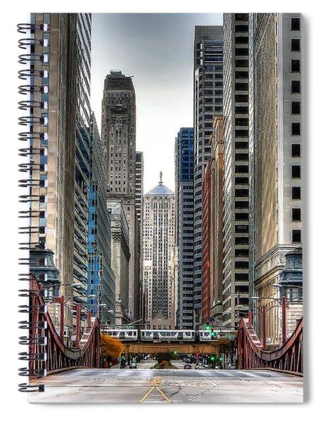 0295b Lasalle Street Bridge Spiral Notebook