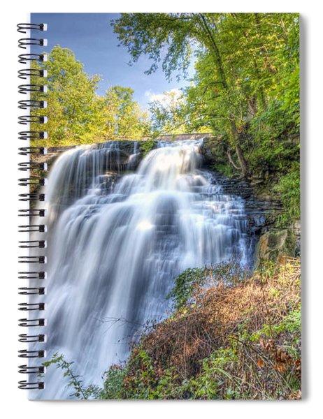 0302 Cuyahoga Valley National Park Brandywine Falls Spiral Notebook