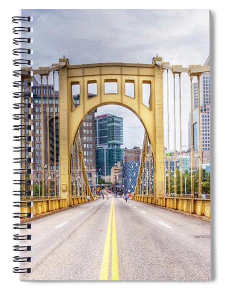 0305  Pittsburgh 10 Spiral Notebook