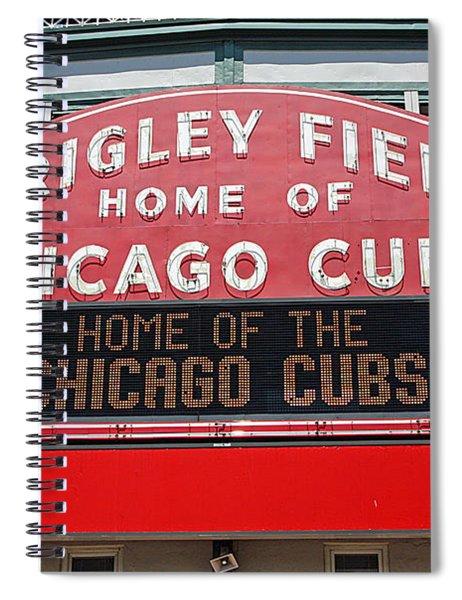 0334 Wrigley Field Spiral Notebook