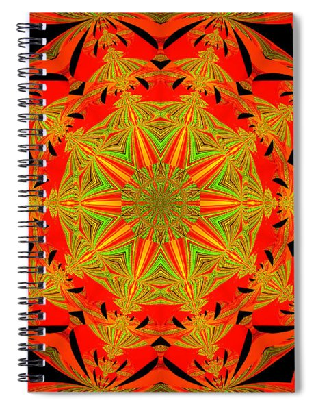 Brighten Your Day.unique And Energetic Art Spiral Notebook