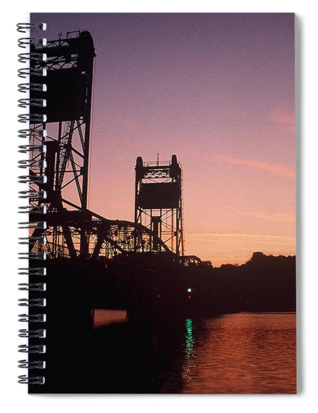 0364 Stillwater Minnesota Bridge Spiral Notebook