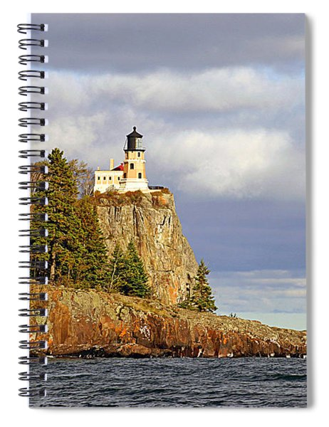 0376 Split Rock Lighthouse Spiral Notebook