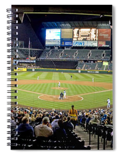 0434 Safeco Field Panoramic Spiral Notebook
