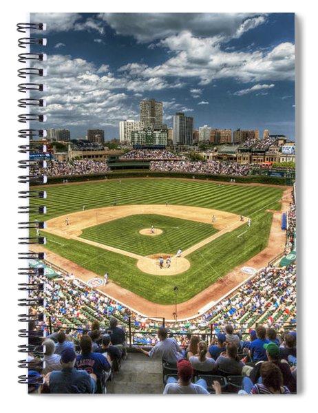 0443 Wrigley Field Chicago  Spiral Notebook